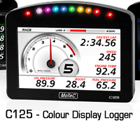 MOTEC C125 Colour Display Logger